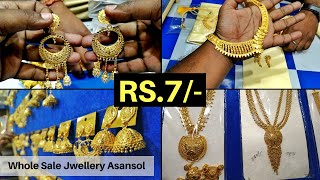 Imitation Jewellery Whole Sale Market Asansol Starting Price at Just Rs 7/-