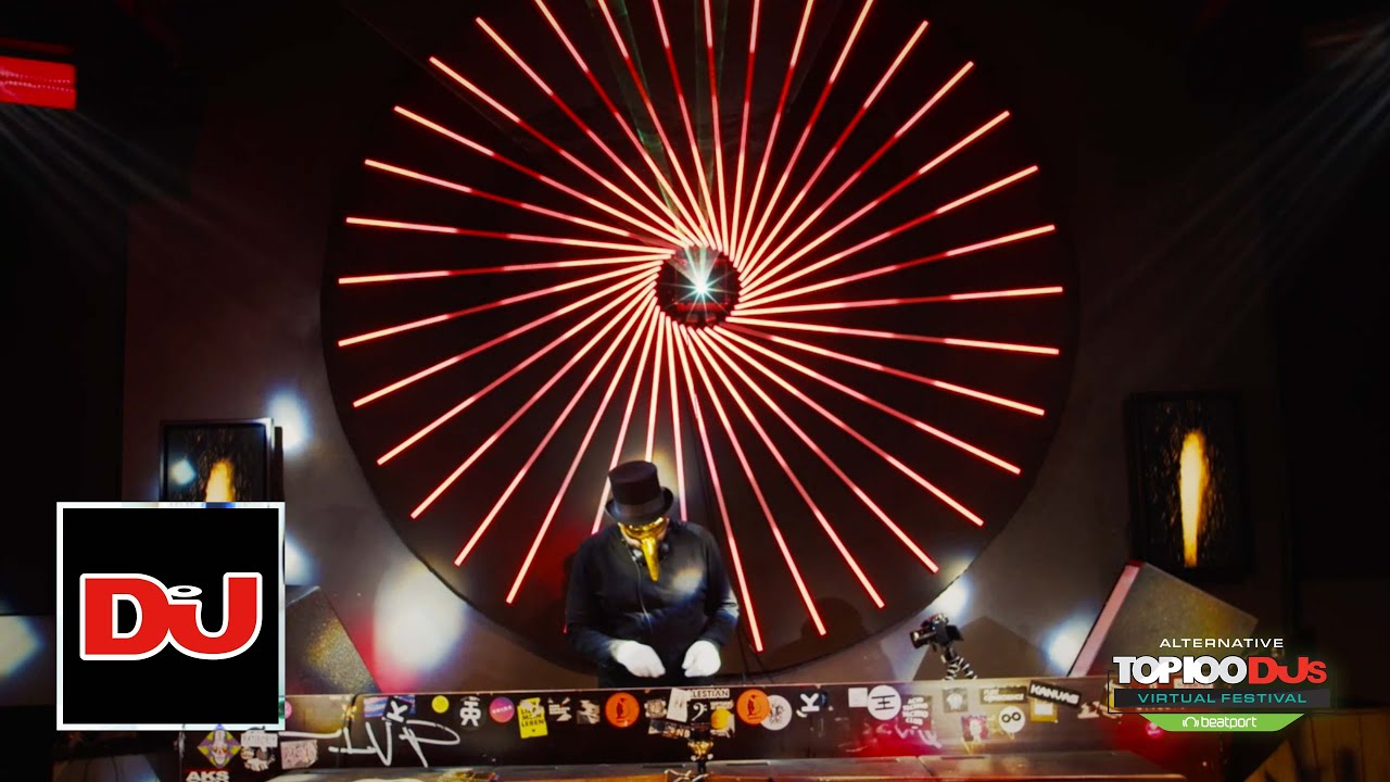 Claptone DJ Set From The Top 100 DJs Virtual Festival 2020