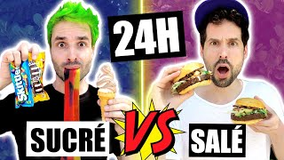 ON MANGE SUCRÉ VS SALÉ PENDANT 24H - CARL IS COOKING