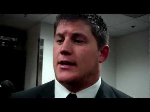 James Ferentz, Penn State Postgame (2/3) 10-20-12