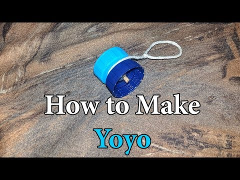 How to Make Yoyo With Bottle Caps at Home