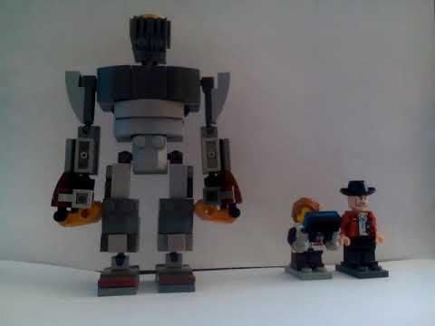 Лего Атом из Живой стали