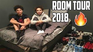 ROOM TOUR 2018!!! Derrick & Derrion *LITTY*🔥