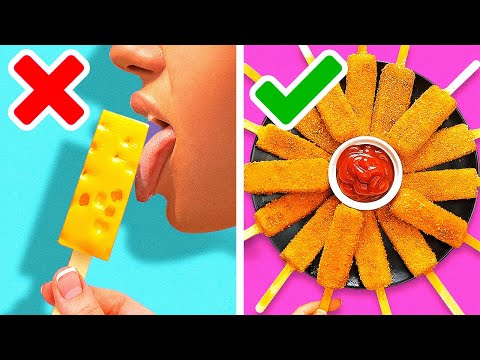 33 YUMMY RECIPES FOR JUNK FOOD LOVERS || Kitchen Tips by 5-Minute Recipes
