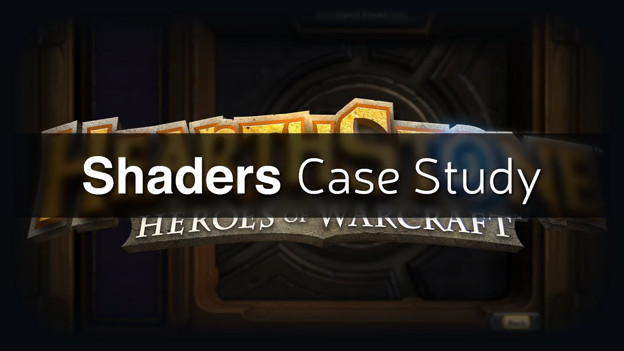 Shaders Case Study - Hearthstone Golden Cards