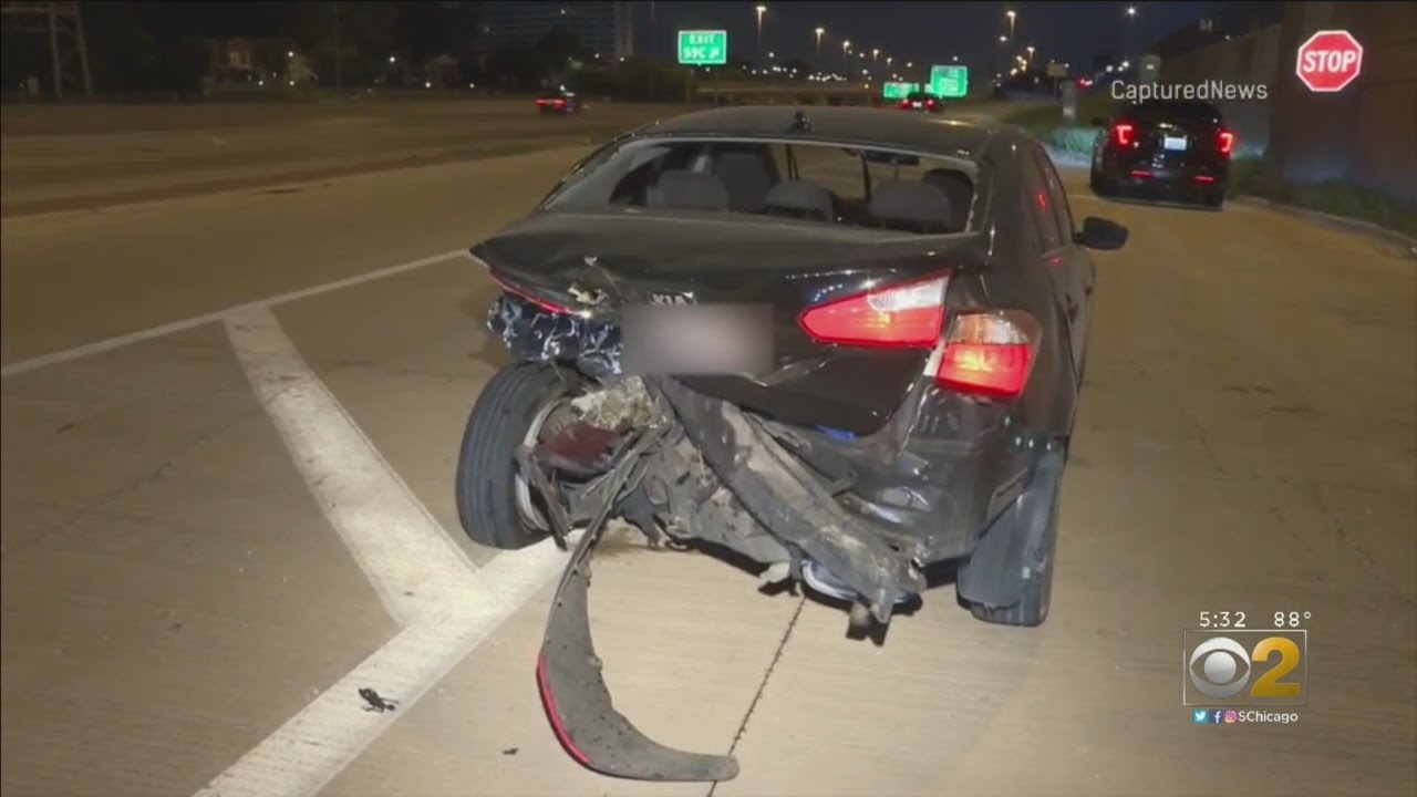 Off-Duty CPD Officer Injured By Suspected Drunk Driver On Dan Ryan