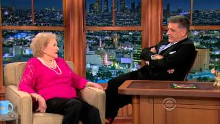 The Late Late Show with Craig Ferguson - Betty White (March 24, 2014)