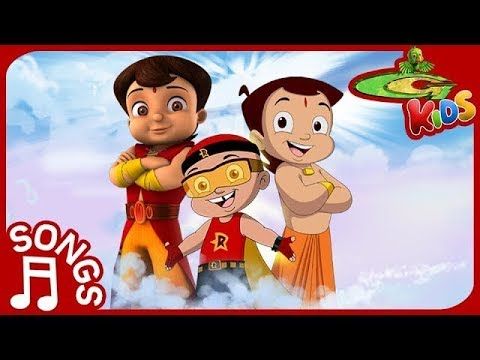 Best Super Hero Songs Compilation for Kids | Super Bheem, Mighty Raju & Chhota Bheem