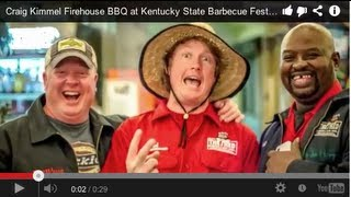 Craig Kimmel Firehouse Bbq Pitmaster At Kentucky State Barbecue Festival Danville Ky