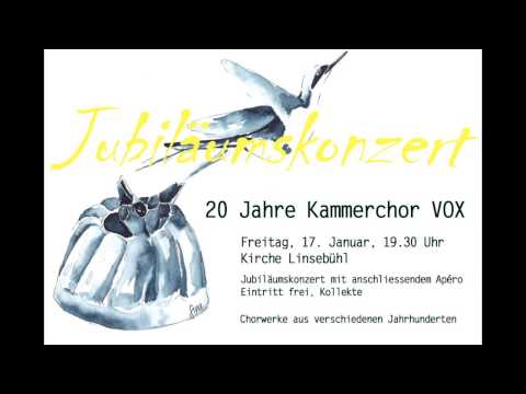 Soneto de la Noche (Morten Lauridsen)  - Kammerchor-VOX *live*