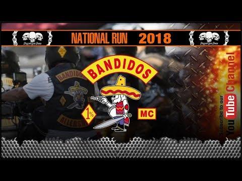 Bandidos MC NATIONAL RUN 2018