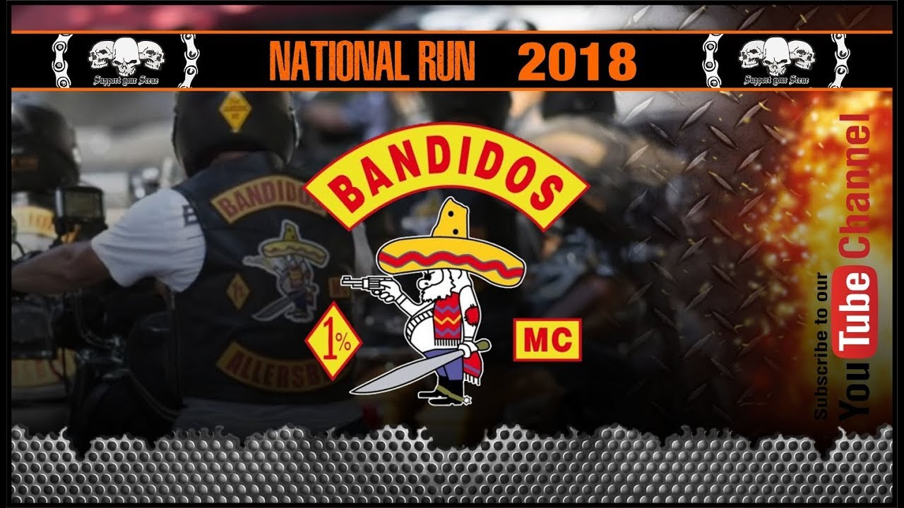 Bandidos MC NATIONAL RUN 2018 - YouTube