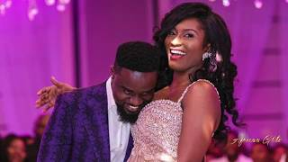 Sarkodie & Tracy Sarkcess Fairytale Wedding