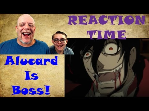 "REACTION TIME | ""Hellsing Ultimate Abridged 4"" - Alucard Is Boss!"