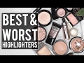 BEST & WORST HIGHLIGHTERS: What's HOT and NOT?! | Jamie Paige