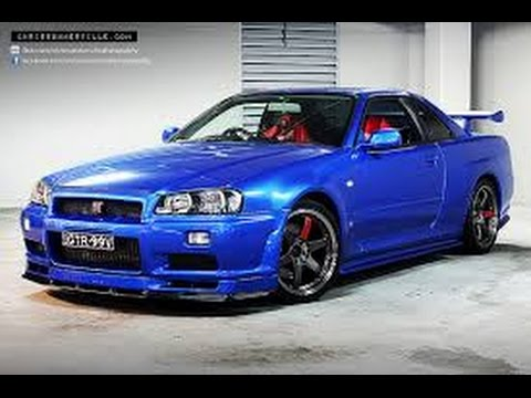 R34 Nissan Skyline Gt R Vs R35 Gt R The Ultimate Godzilla