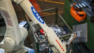 BILA RoboPower Automates Bracket Handling At Danish Company