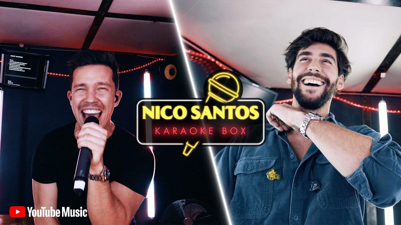 Ist das Alvaro Soler oder Enrique Iglesias? & Eminem wird gerappt (live) 👏   Nico Santos Karaoke Box