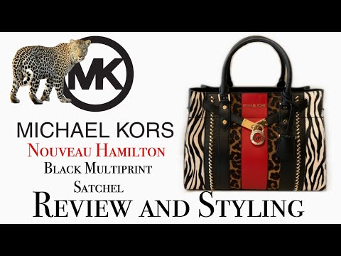 Michael Kors Handbag Review and Styling   NOUVEAU HAMILTON