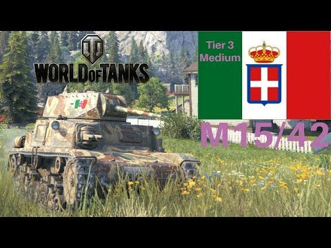 M15/42 review World of Tanks