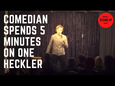 Comedian Spends Five Minutes on One Heckler
