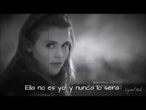 Lydia, Stiles and Malia | ❝She's not me❞ {Letra en español}