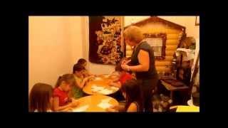 Изготовление тряпичной куклы.