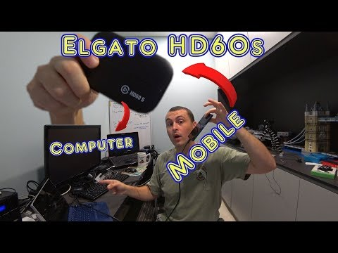 How To Set Up Elgato HD60s With Mobile Phone Input And Lavalier Mic To Make Gaming Videos