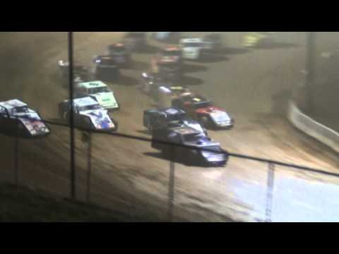 "West Virginia Motor Speedway ""Renegades of Dirt"" Modified Feature Highlights 4-21-2013"