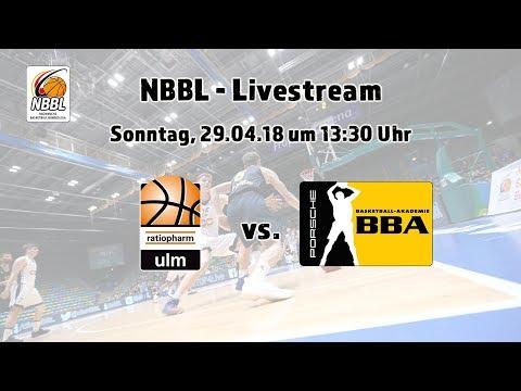 NBBL Playoffs ratiopharm ulm - Porsche BBA Ludwigsburg