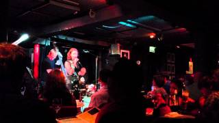 """Two Steps from the Blues"" -  Karen Lane Live @ Dean Street Pizza Express July 2013"