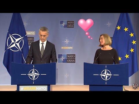 NATO: 12/5/17. Sec. Stoltenberg & HR. Mogherini Press Brief During Minister Meetings.