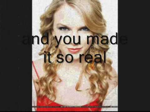 taylor swift-crazier (with lyrics and pictures)