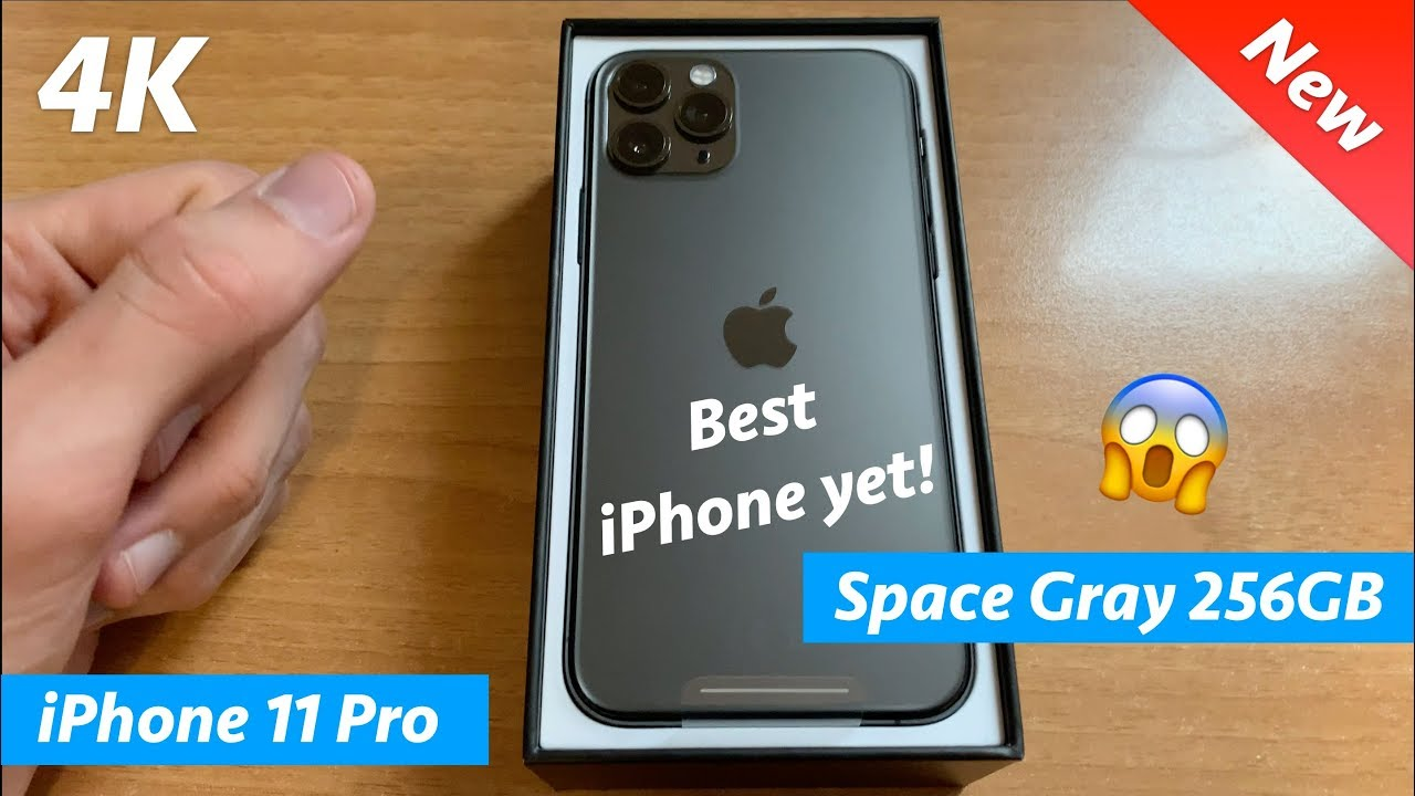 Photo of iPhone 11 Pro unboxing Space Gray 256GB – First look in 4K – ايفون
