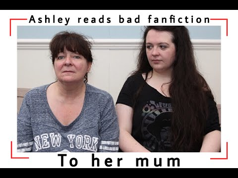 Ashley reads her