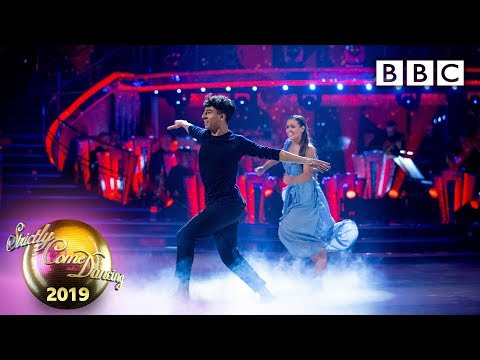 Karim and Amy Couple's Choice Contemporary to Drops of Jupiter - Week 10 | BBC Strictly 2019