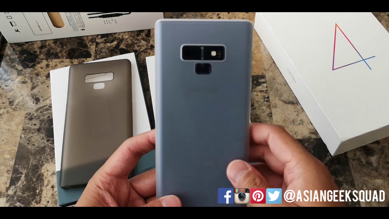 50a934827d94 Bare: Naked Review - Samsung Galaxy Note 9 [best minimal case] - YouTube