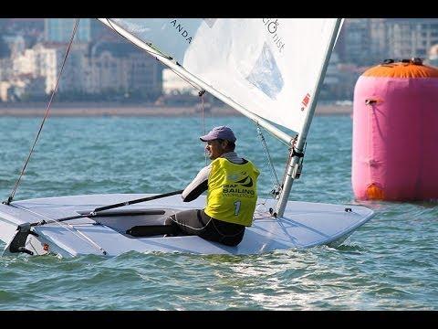 ISAF Sailing World Cup Qingdao - Laser Medal Race