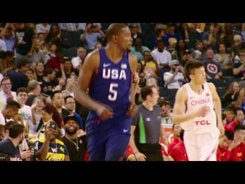 All-Access:  US Olympic Men's Team vs. China @ Oracle Arena