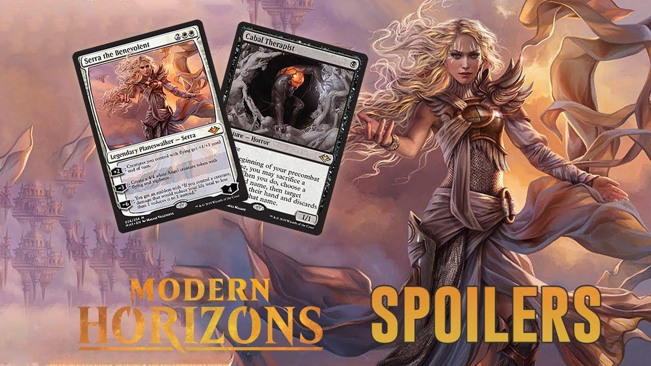Modern Horizons Spoilers — March 1, 2019 | Serra Planeswalker