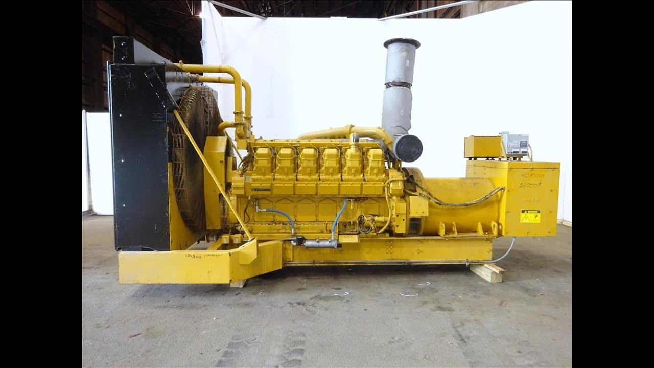Caterpillar 1000 kW, CAT 3512, diesel generator set - Stock