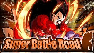 NO ITEM RUN! LR SUPER SAIYAN 4 VEGETA VS. STR SUPER BATTLE ROAD! (DBZ: Dokkan Battle)