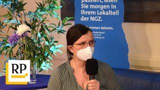 Talk auf dem blauen NGZ-Sofa mit Kreisgesundheitsamts-Chefin Albrecht