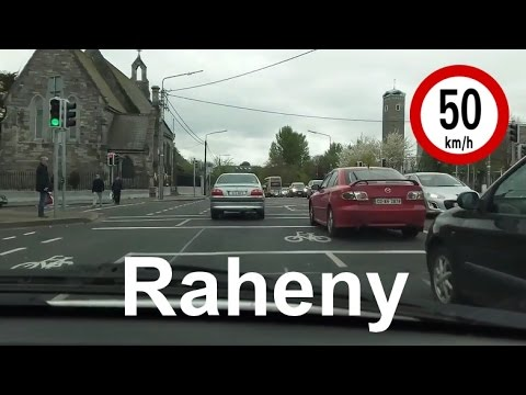 Dash Cam Ireland - Howth Road to Raheny, Dublin