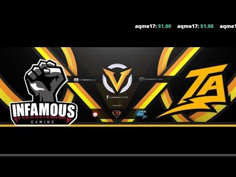 Infamous Gaming vs Thunder Predator BO3 //ESL One Birmingham 2018 South America Qualifier
