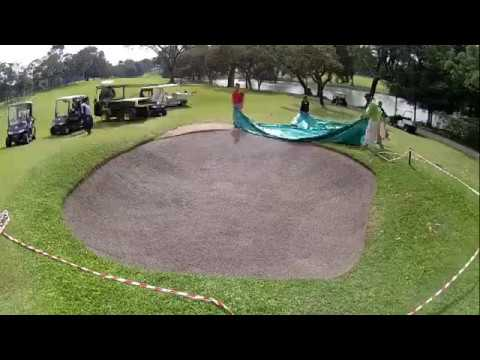 Time Lapse for Capillary Concrete Installation at Singapore Island Country Club