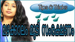 🌧🌂Monsoon Haircare Tips  Tricks & Tips  SimplyMyStyle Unni malayali YouTuber  🌧