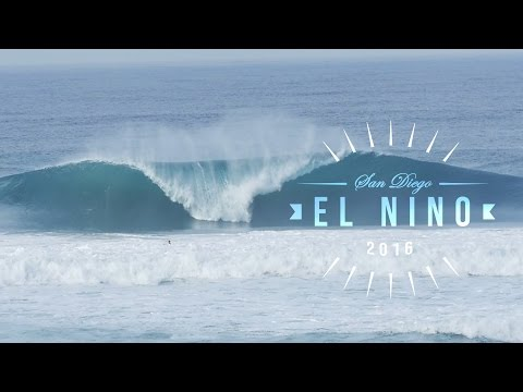 San Diego's Best Surfing | Early 2016 El Nino Highlights