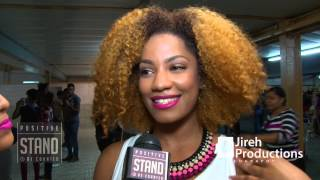 Christiana Interview at Stand And Be Counted - The Encounter - Positive