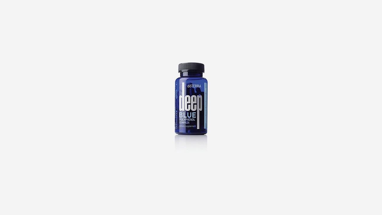 Doterra Deep Blue Polyphenol Complex 60 Vegetarian Capsules Youtube